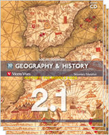 GEOGRAPHY AND HISTORY 2 (2.1-2.2-2.3)+CD ANDALUCIA