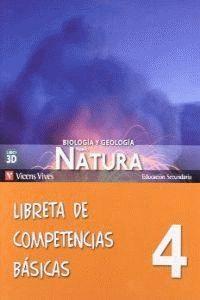 NUEVO NATURA 4 LIBRETA COMPETENCIAS BASICAS