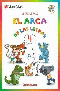 EL ARCA DE LAS LETRAS 4. LETRA DE PALO N/C