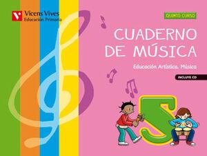 CUADERNO DE MUSICA 5+CD