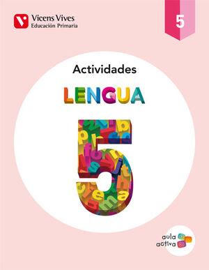 LENGUA 5 ACTIVIDADES (AULA ACTIVA)