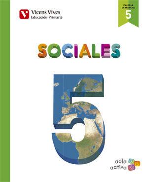 SOCIALES 5 + CASTILLA-LA MANCHA SEP (AULA ACTIVA)