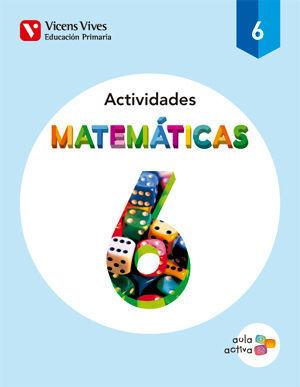 MATEMATICAS 6 ACTIVIDADES (AULA ACTIVA)