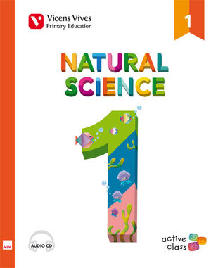 NATURAL SCIENCE 1 + CD (ACTIVE CLASS)