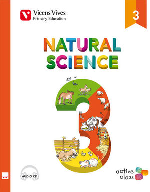 NATURAL SCIENCE 3 + CD (ACTIVE CLASS)