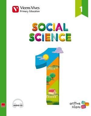 SOCIAL SCIENCE 1 + CD (ACTIVE CLASS)