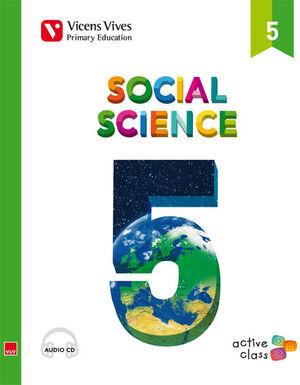 SOCIAL SCIENCE 5 + CD (ACTIVE CLASS)
