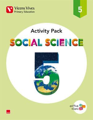 SOCIAL SCIENCE 5 ACTIVITY BOOK (ACTIVE CLASS)