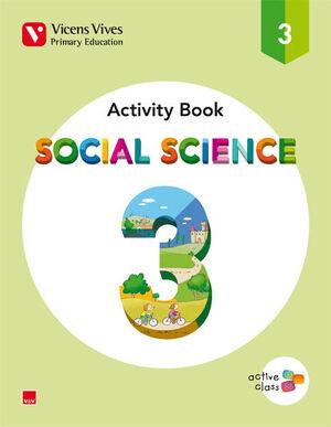 SOCIAL SCIENCE 3 ACTIVITY BOOK (ACTIVE CLASS)