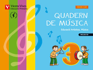 QUADERN MUSICA 3 VALENCIA+CD