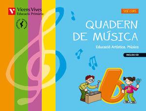 QUADERN MUSICA 6 VALENCIA+CD