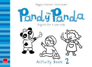 PANDY THE PANDA ACTIVITY BOOK 2