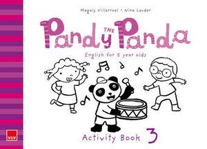 PANDY THE PANDA ACTIVITY BOOK 3