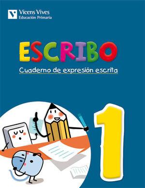 ESCRIBO. CUADERNO EXPRESION ESCRITA 1