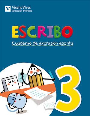 ESCRIBO. CUADERNO EXPRESION ESCRITA 3