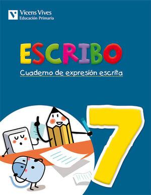ESCRIBO. CUADERNO EXPRESION ESCRITA 7