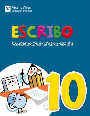 ESCRIBO. CUADERNO EXPRESION ESCRITA 10
