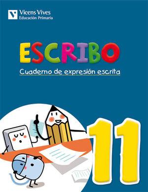 ESCRIBO. CUADERNO EXPRESION ESCRITA 11