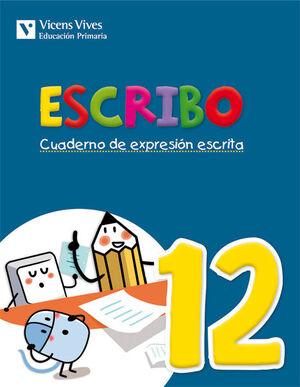 ESCRIBO. CUADERNO EXPRESION ESCRITA 12