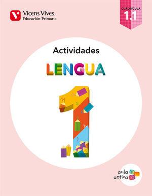 LENGUA 1.1 ACTIVIDADES CUADRICULA AULA ACTIVA
