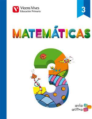 MATEMATICAS 3 (3.1-3.2-3.3) AULA ACTIVA