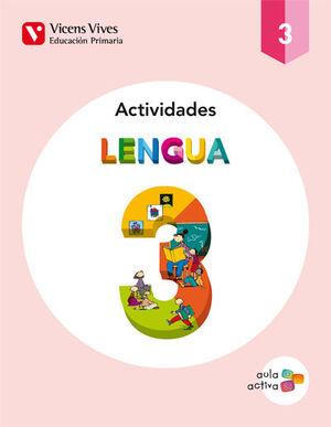 LENGUA 3 ACTIVIDADES (AULA ACTIVA)
