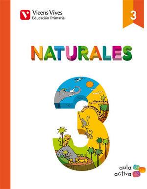NATURALES 3 (AULA ACTIVA)