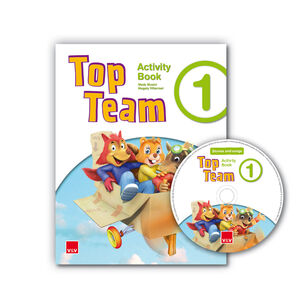TOP TEAM 1 ACTIVITY BOOK +  CD STORIES AND SONGS