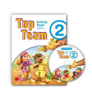 TOP TEAM 2 ACTIVITY BOOK +  CD STORIES AND SONGS