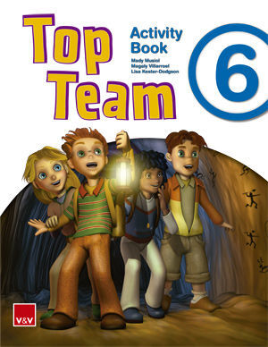 TOP TEAM 6 ACTIVITY BOOK +  CD STORIES AND SONGS