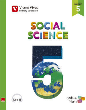 SOCIAL SCIENCE 5 MADRID+ CD (ACTIVE CLASS)