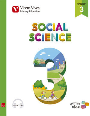 SOCIAL SCIENCE 3 MADRID+ CD (ACTIVE CLASS)