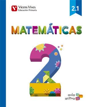 MATEMATICAS 2 (2.1-2.2-2.3) AULA ACTIVA