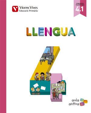 LLENGUA 4 (4.1-4.2-4.3) VALENCIA (AULA ACTIVA)