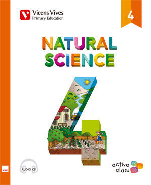 NATURAL SCIENCE 4 + CD (ACTIVE CLASS)