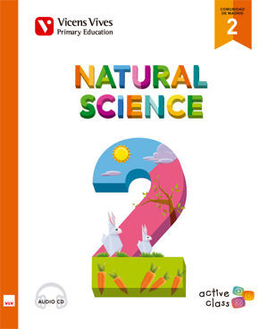 NATURAL SCIENCE 2 MADRID+ CD (ACTIVE CLASS)