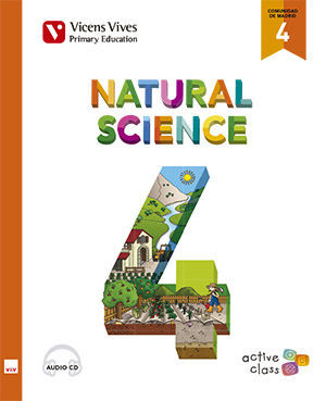 NATURAL SCIENCE 4 MADRID+ CD (ACTIVE CLASS)