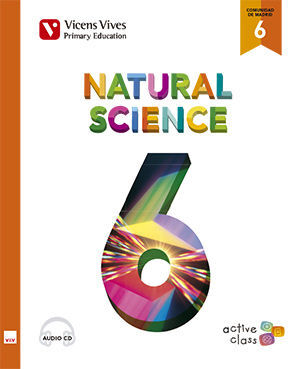 NATURAL SCIENCE 6 MADRID+ CD (ACTIVE CLASS)