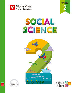 SOCIAL SCIENCE 2 MADRID + CD (ACTIVE CLASS)