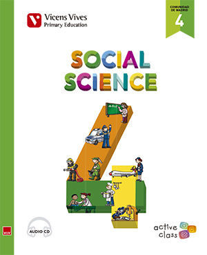SOCIAL SCIENCE 4 MADRID + CD (ACTIVE CLASS)