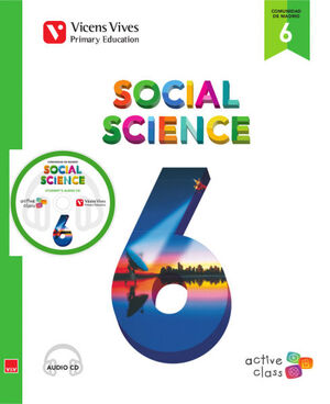 SOCIAL SCIENCE 6 MADRID + CD (ACTIVE CLASS)