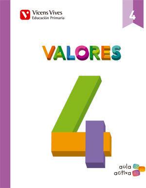 VALORES 4 (AULA ACTIVA)