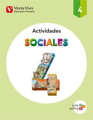 SOCIALES 4 ACTIVIDADES (AULA ACTIVA)