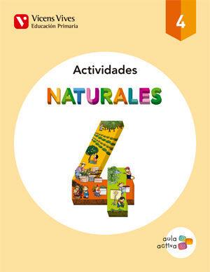 NATURALES 4 ACTIVIDADES (AULA ACTIVA)