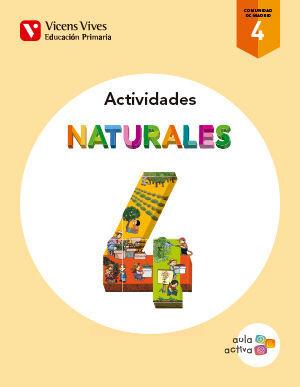 NATURALES 4 MADRID ACTIVIDADES (AULA ACTIVA)