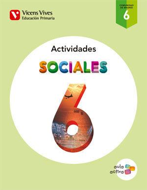 SOCIALES 6 MADRID ACTIVIDADES (AULA ACTIVA)