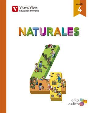 NATURALES 4 (AULA ACTIVA)+ ARAGON SEPARATA