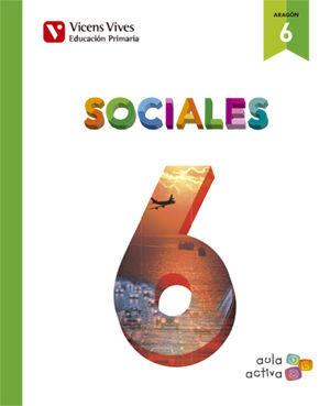 SOCIALES 6+ ARAGON SEPARATA (AULA ACTIVA)