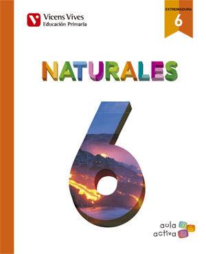 NATURALES 6 AUTO+ EXTREMADURA SEPARATA (AULA ACTIV