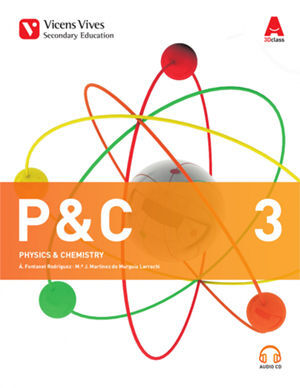 P&C 3 ANDALUCIA (PHYSICAL&CHEMICAL)+ 2 CD'S